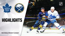 NHL Highlights | Maple Leafs @ Sabres 2/16/20