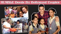 Akshay - Twinkle, SRK - Gauri, Aamir - Kiran Rao HUMBLE Deeds Of Bollywood STAR Couples