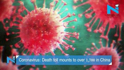 Coronavirus: Death toll in China crosses 1,700