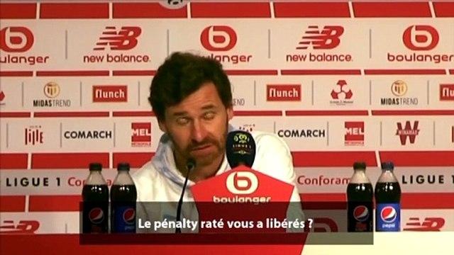 André Villas-Boas s'explique sur le penalty raté de Valentin Rongier