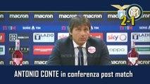 LAZIO-INTER 2-1:  ANTONIO CONTE in CONFERENZA STAMPA - INTEGRALE