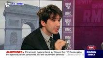 "Juan Branco affirme ""avoir accompagné"" Piotr Pavlenski ""en tant qu'avocat"""
