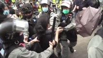 Hong Kong coronavirus protest: Disruption near quarantine sites close to residential areas