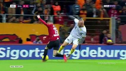 SK Galatasaray Istanbul 1-0 SK Yeni Malatyaspor Ma...