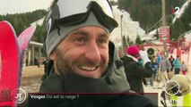 Le manque de neige fait tourner l'économie des stations de ski au ralent