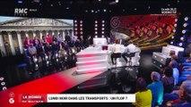 Le monde de Macron : Lundi noir dans les transports, un flop ? - 17/02