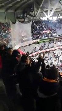 L'incroyable bruit fait par les fans de l'OM à Lille