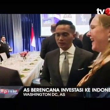 AS Berencana Investasi ke Indonesia