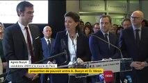 """""""Ma gratitude est immense"""" : émue aux larmes, Agnès Buzyn a quitté le ministère de la Santé pour reprendre le flambeau de la candidature LREM à Paris"""
