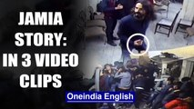 Jamia violence: 3 video clips tell different versions of story | OneIndia News
