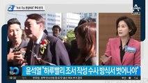 """""""수사·기소 한덩어리"""" 윤석열의 반격"""