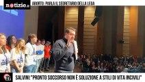 """Salvini sull'aborto """"Gli ospedali non sono la soluzione a uno stile di vita incivile""""   Notizie.it"""