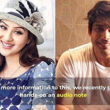 Bigg Boss 13: Sidharth Shukla Abuses Former BB Winner Shilpa Shinde, Baby, I Hope You Die' - Listen To Full Audio Note