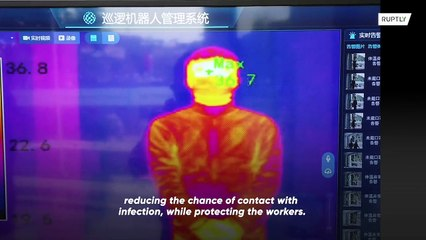 This patrol robot could help combating coronavirus outbreak