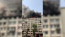 Fire in Mumbai GST Bhavan