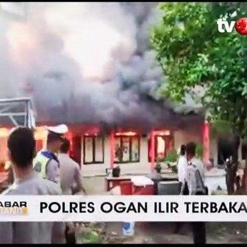 Polres Ogan Ilir Terbakar, Tiga Gedung Hangus
