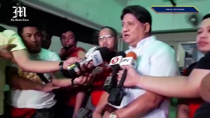 WATCH: Peter Advincula a.k.a. Bikoy posts bail at the Quezon City Metropolitan Trial Court on Monday