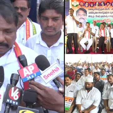 Congress's Dharna Against Supreme Court Order On Reservations