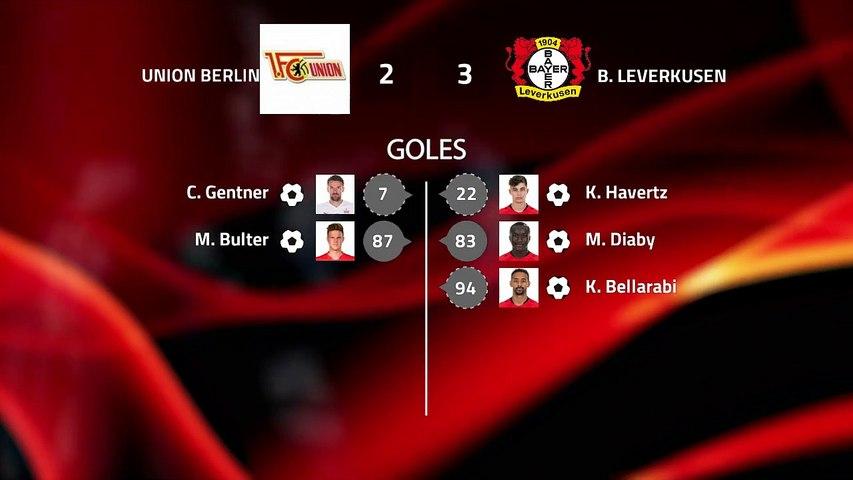 Resumen partido entre Union Berlin y B. Leverkusen Jornada 22 Bundesliga