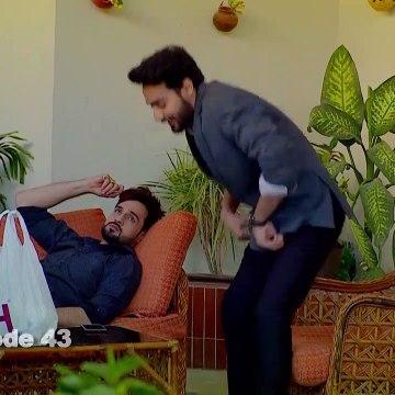 Bezuban - Episode 43 | Aplus Dramas | Usama Khan, Nawal Saeed, Junaid, Mahlaqa | Pakistani Drama