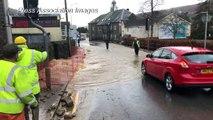 Clean up starts after Storm Dennis hits UK