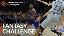 Turkish Airlines EuroLeague Regular Season Round 25: Fantasy Challenge