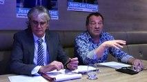 Jean-Marc Mauchauffée présente les thèmes de campagne de la liste conduite par Jean-Luc Cosme