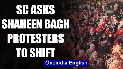 SC asks Shaheen Bagh protesters to move to alternate site   OneIndia News