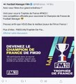 Football Manager : Le premier tournoi officiel arrive en France
