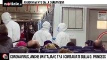 Coronavirus, ipotesi di contagio per un italiano a bordo della Diamond Princess   Notizie.it