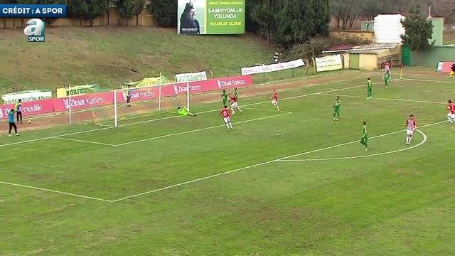 Le joli coup de tête d'Abdelaziz Barrada avec Antalyaspor