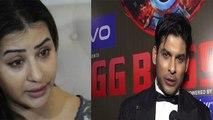 Bigg Boss 13 : Siddharth Shukla ने Shilpa Shinde को जमकर लगाई लताड़, कही ये बात | FilmiBeat