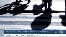 Arizona could possibly look at new laws to stop distracted pedestrians?