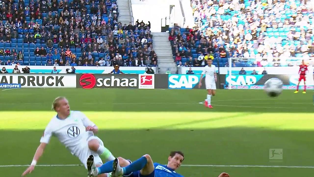 Hoffenheim - Wolfsburg (2-3) - Maç Özeti - Bundesliga 2019/20
