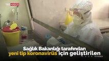 Koronavirüs için üretilen yerli tanı kitinin laboratuvar görüntüleri paylaşıldı
