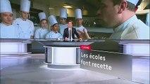 Emploi : la tendance des écoles de cuisine