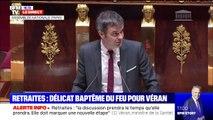 """Olivier Véran sur la réforme des retraites: """"Ce projet a la légitimité d'un programme présidentiel et d'une concertation"""""""