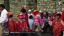 Machu Picchu : le sanctuaire inca fragilisé par l'afflux des touristes