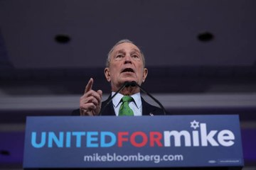 Candidate Michael Bloomberg Made an Unusual Announce