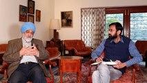 The Montek Singh Ahluwali interview