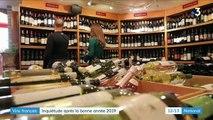 Économie : l'inquiétude des viticulteurs français