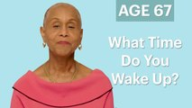 70 Women Ages 5 to 75: What Time Do You Wake Up In the Morning?