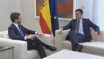 Sánchez y Casado constatan su desencuentro total