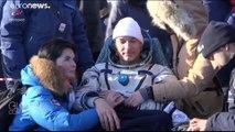 À peine rentré sur Terre, l'astronaute de l'ESA Luca Parmitano pense déjà à la Lune