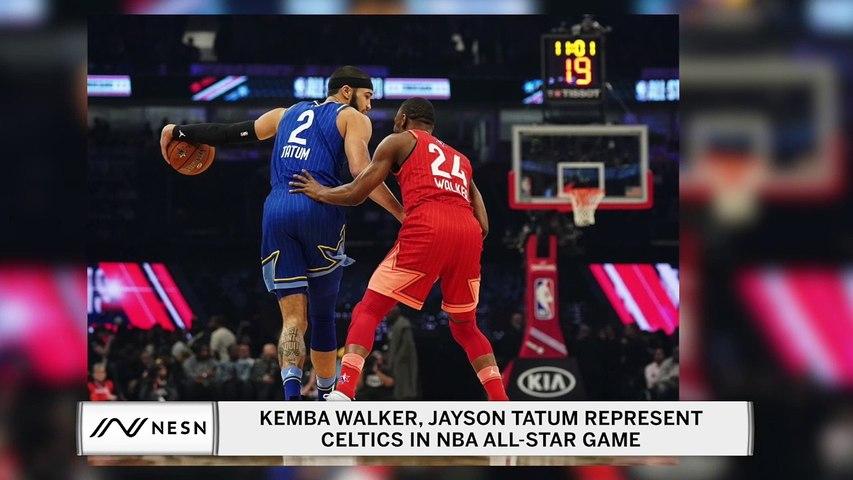 Kemba Walker, Jayson Tatum represent Celtics at NBA All-Star Game