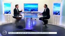 """L'invité de la rédaction - 17/02/2020 - Michaël CORTOT, candidat """"Projet Citoyen pour Tours"""""""
