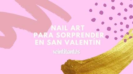 Nail Art para San Valentín