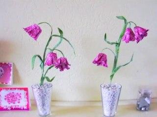 Origami Fritillary Flowers