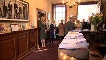 Prince Charles Visits Shirt Maker Workshop in Gloucester