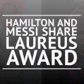 Hamilton and Messi share Laureus award